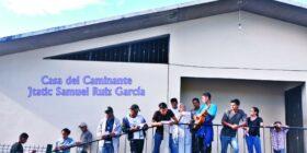 """""""Casa del Caminante"""" en Palenque. – Foto: Casa del Caminante Jtatic Samuel Ruiz García/Facebook"""