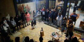 Jóvenes artistas organizan el primer encuentro de diálogo intercultural en los Altos de Chiapas. Foto: Cortesía.