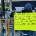 Migrantes se preguntan por qué el gobierno mexicano viola sus derechos. Foto: Ángeles Mariscal