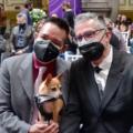 Celebran primera boda colectiva LGBTTTI+ en Puebla