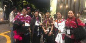 Mujeres indígenas migrantes en Tampa, Florida. Foto: Casa Chiapas.