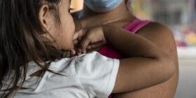 Mujeres migrantes de Honduras, esperan con miedo ser deportadas de México. Fotos: Duilio Rodríguez