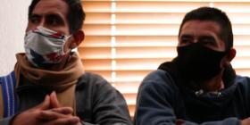 A un año del inicio del hostigamiento judicial contra José Luis Gutiérrez y César Hernández, defensores comunitarios, el Observatorio (OMCT-FIDH) y ACAT Francia exigen el retiro de los cargos en su contra. Cortesía: OMCT